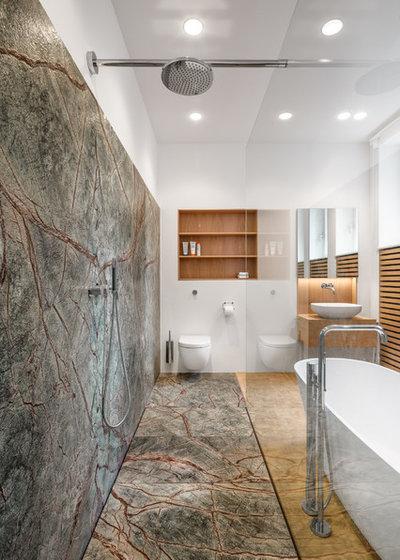 Modern Badezimmer by Corneille Uedingslohmann Architekten