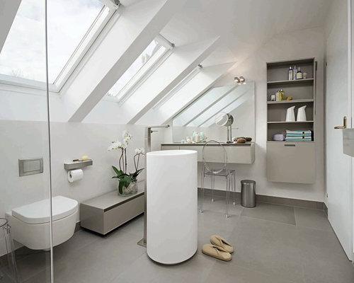 Badezimmer Modern Schiefer : Moderne Badezimmer Mit Schieferboden Ideen  Beispiele F?r Die Badgestaltung Houzz