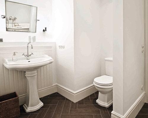 klassisches badezimmer in mnchen - Badezimmer Holzfliesen