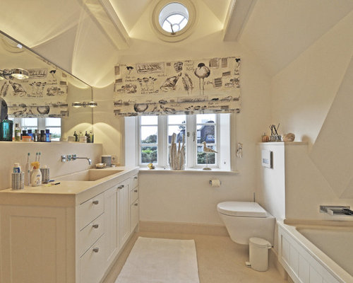 badezimmer mit kalkstein waschtisch ideen f r die badgestaltung houzz. Black Bedroom Furniture Sets. Home Design Ideas