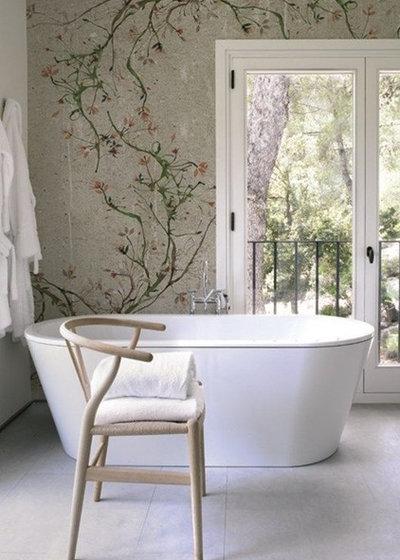 Modern Badezimmer by VerWANDlung remmers Malerwerkstätten