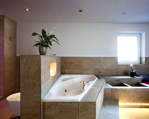 moderne badezimmer: design-ideen & beispiele für die badgestaltung, Hause ideen