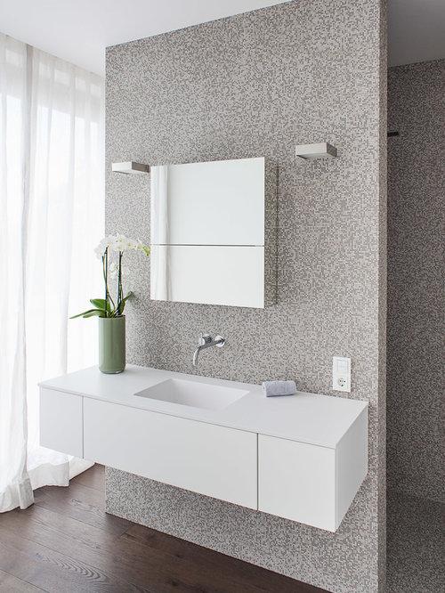 Bad Mosaikfliesen Ideen badezimmer mit mosaikfliesen ideen design bilder houzz