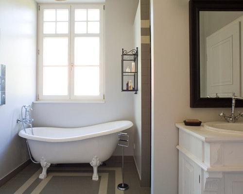 landhausstil badezimmer - design-ideen & beispiele für die ... - Badezimmer Landhausstil