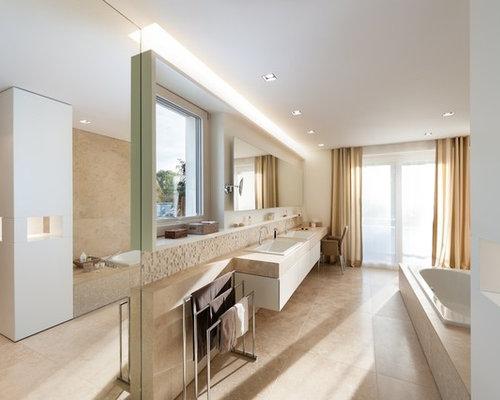 sandfarbene fliesen bad carprola for. Black Bedroom Furniture Sets. Home Design Ideas