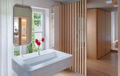 Ein Stuttgarter Bad en suite mit Rhythmusgefühl