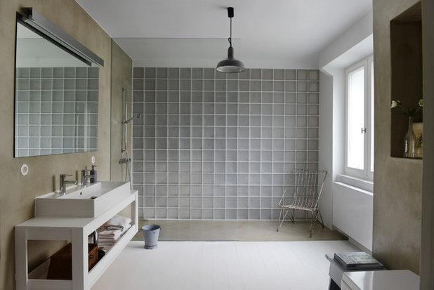 Industrielt Badeværelse by Studio Swen Burgheim