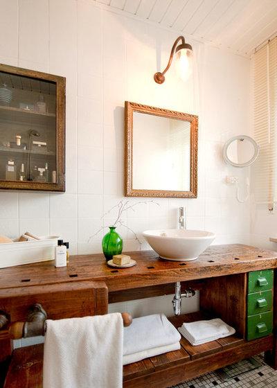 Eclectic Bathroom by freudenspiel - interior design