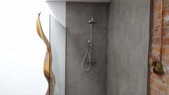 Wände mit Charakter - Dusche