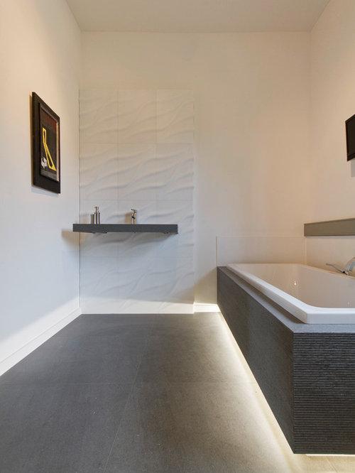 Moderne badezimmer mit eckbadewanne ideen f r die - Eckbadewanne fliesen bilder ...