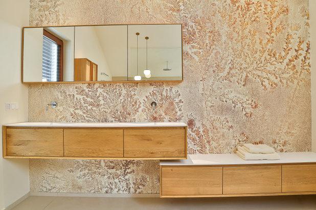 Minimalistisch Badezimmer by acqua design - exklusive badkonzepte
