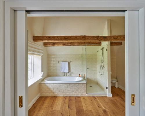 Rustikale badezimmer ideen design bilder houzz for Ideen zum badezimmer