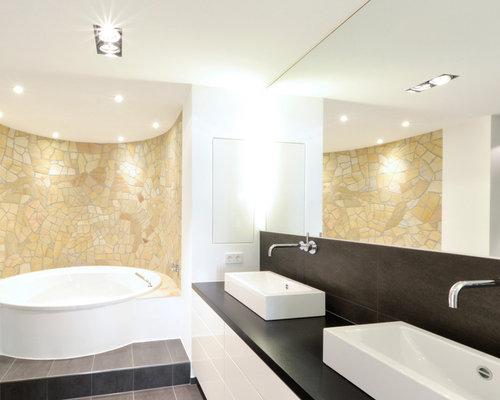 Badezimmer Mit Whirlpool: Design-ideen & Beispiele Für Die ... Badezimmer Mit Whirlpool