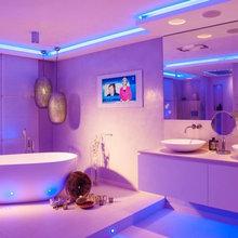 Spadesign mit TV - Contemporáneo - Cuarto de baño - Colonia ...