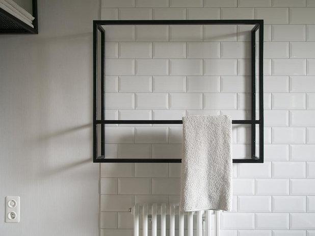 schwarzstahl metro fliesen und terrazzo f r zwei wiener b der. Black Bedroom Furniture Sets. Home Design Ideas