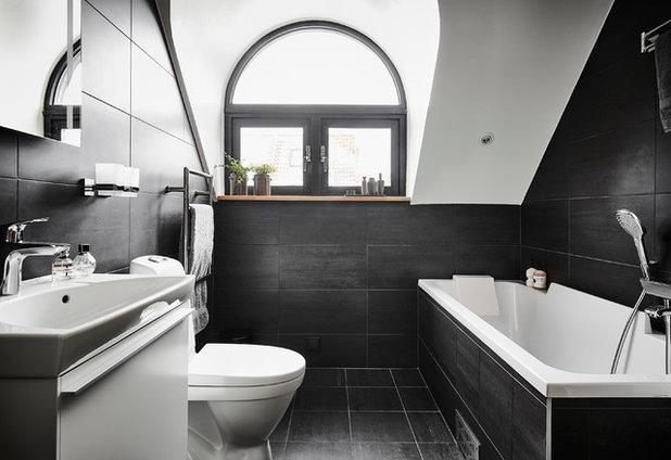 Contemporary Bathroom by A3 Byggprojekt AB