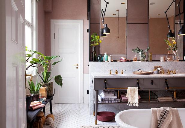Contemporáneo Cuarto de baño by Ryott Arkitektur