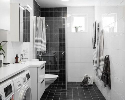 Bagno con lavatrice - Foto e idee | Houzz
