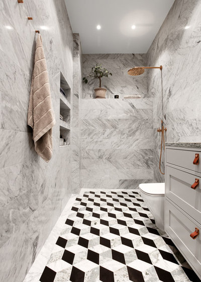 Skandinavisch Badezimmer by Fotograf Philip McCann