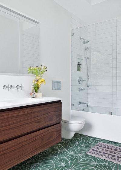 Minimalistisch Badezimmer by Marrakech Design