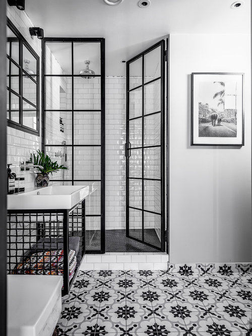 30 Trendy Industrial Bathroom Design Ideas Pictures Of