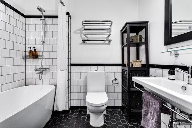 Skandinavisch Badezimmer by Alexander White
