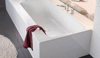 Inkaklade badkar