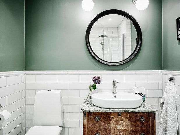 Vem s ger att vitt kakel automatiskt m ste g ra ett badrum tr kigt - Fliesenspiegel bad ...