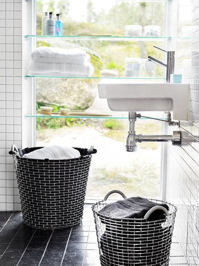 Moderne Badeværelse by Korbo Baskets