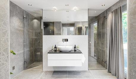Maxad minimalism i badrummet – med en twist