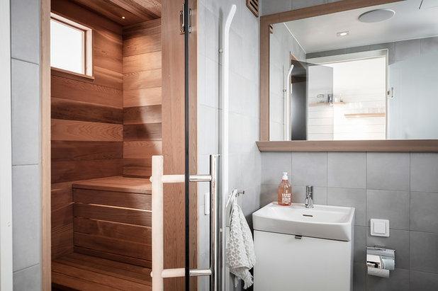 Скандинавский Ванная комната by Studio A3
