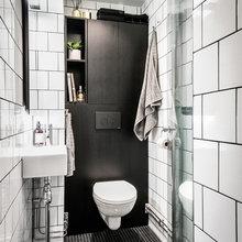 10 små badeværelser med storslåede idéer