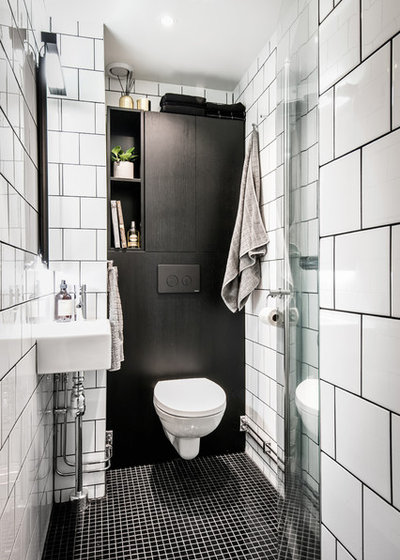 Skandinavisk Badrum by A3 Byggprojekt AB