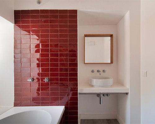 Design#5002095: Badezimmer Klinker U2013 Badezimmer Klinker | Ziakia, Wohnzimmer