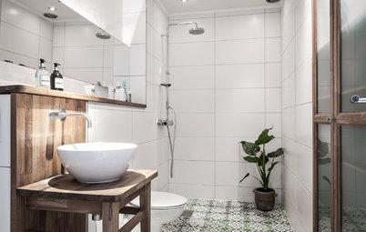 Wie praktisch ist eigentlich ... ein offener Duschbereich?