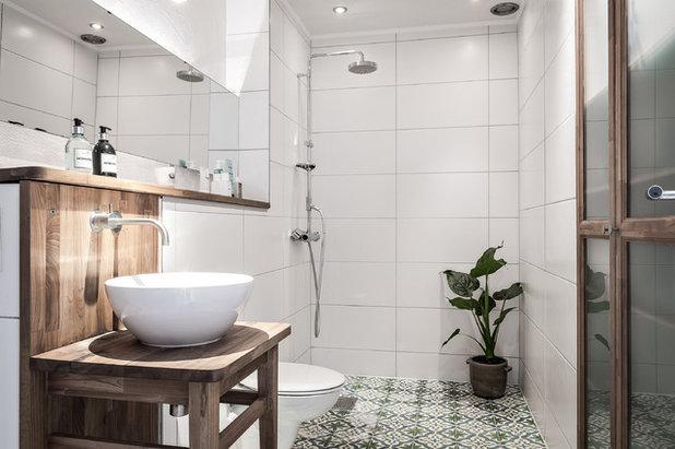 Skandinavisch Badezimmer by Bjurfors Göteborg