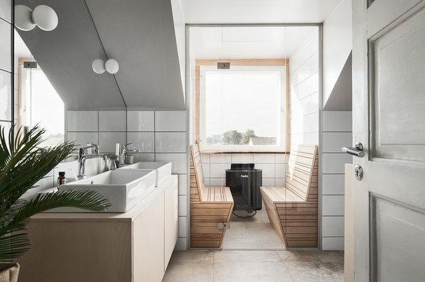 Scandinavian Bathroom by Scandinavian Homes