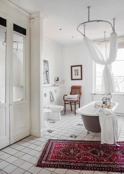 Scandinavian Bathroom Skapa stilen / Sköna Hem - Mariefred