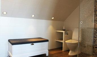 Toalettstol och förvaringsbänk