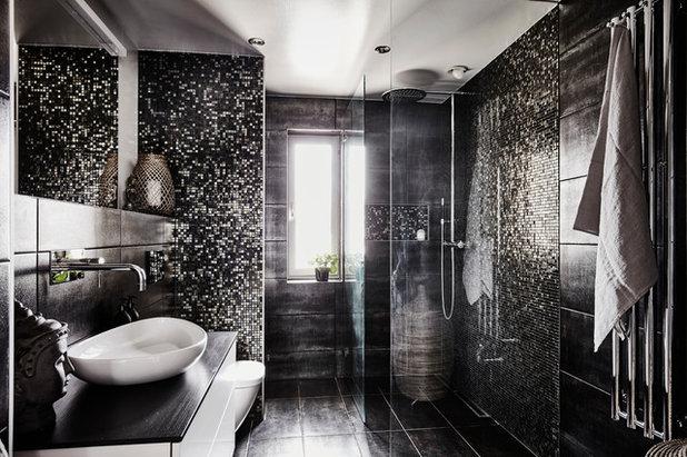 Modern Badezimmer by A3 Byggprojekt AB