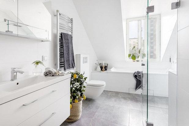 Scandinavian Bathroom by Notar