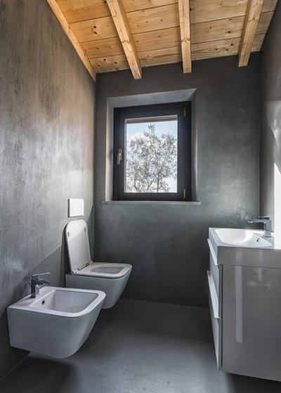 Кантри Туалет by ora architetti