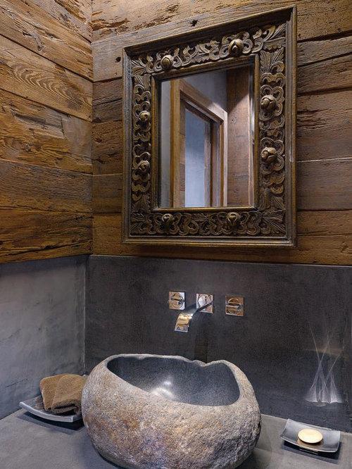 Foto e idee per bagni bagno in montagna - Idee per rivestire un bagno ...