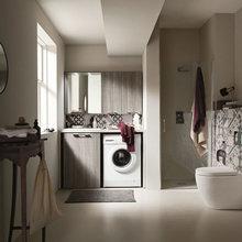 9 Modi per Lasciare la Lavatrice a Vista in Bagno