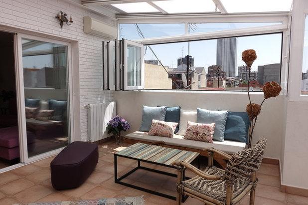 Cerramientos perdemos una terraza o ganamos una habitaci n - Construir habitacion en terraza de atico ...