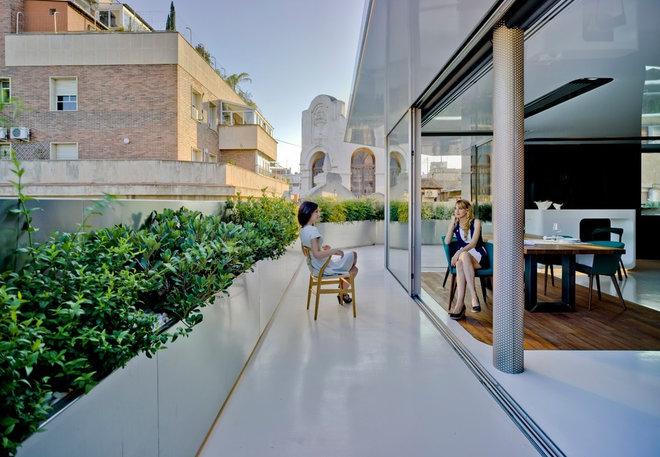 Ban công đương đại của Clavel Arquitectos