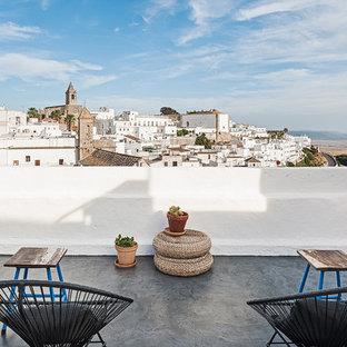 Modelo de balcones mediterráneo sin cubierta