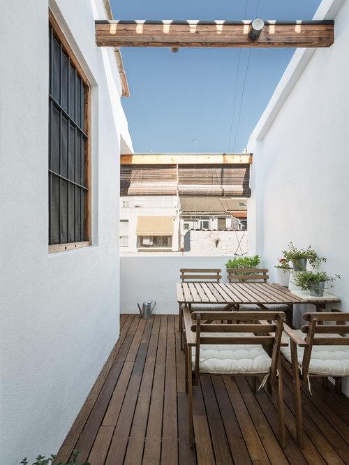 photos et id es d co de terrasses m diterran ennes petit. Black Bedroom Furniture Sets. Home Design Ideas