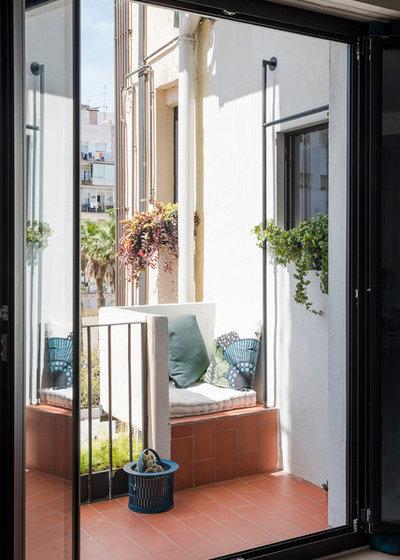 Неоклассика Балкон и лоджия by CaSA - Colombo and Serboli Architecture