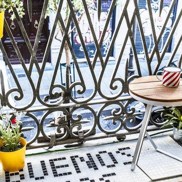 """Un """"mini balcón"""" con mucho caracter"""